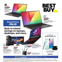 - Weekly - Back To School Savings Flyer