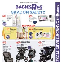 Babies R Us - Weekly - Save On Safety Flyer