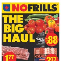No Frills - Weekly - The Big Haul Flyer