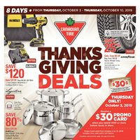 - 8 Days of Savings - Thanksgiving Deals Flyer