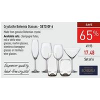 Crystalite Bohemia Glasses
