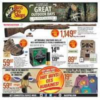 Bass Pro Shops - Great Outdoor Days Flyer