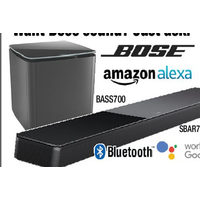 Bose BASS700 Bass Module, SBAR700 Sound Bar