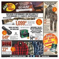 Bass Pro Shops - It's Here! Go Hunt! Flyer