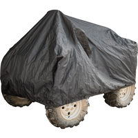 Power Fist Black Trailerable ATV Covers - 75L x 50W x 40H In.