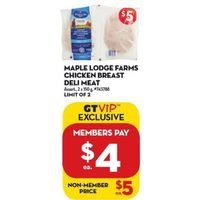 Maple Lodge Farms Chicken Breast Deli Meat