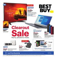 Best Buy - Weekly - Clearout Sale Flyer