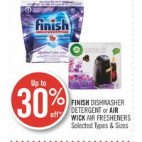 Finish Dishwasher Detergent Or Air Wick Air Fresheners