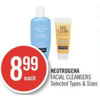 Neutrogena Facial Cleansers