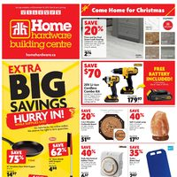 Home Hardware - Building Centre - Come Home For Christmas Flyer
