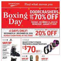 Sport Chek - Boxing Day Sale Flyer