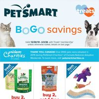 PetSmart - Treats Membership Only - BOGO Savings Flyer
