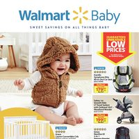 Walmart - Baby Book - Sweet Savings On All Things Baby Flyer