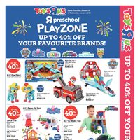 - 2 Great Weeks! - Preschool Playzone Flyer