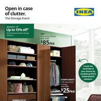 IKEA - The Storage Event Flyer