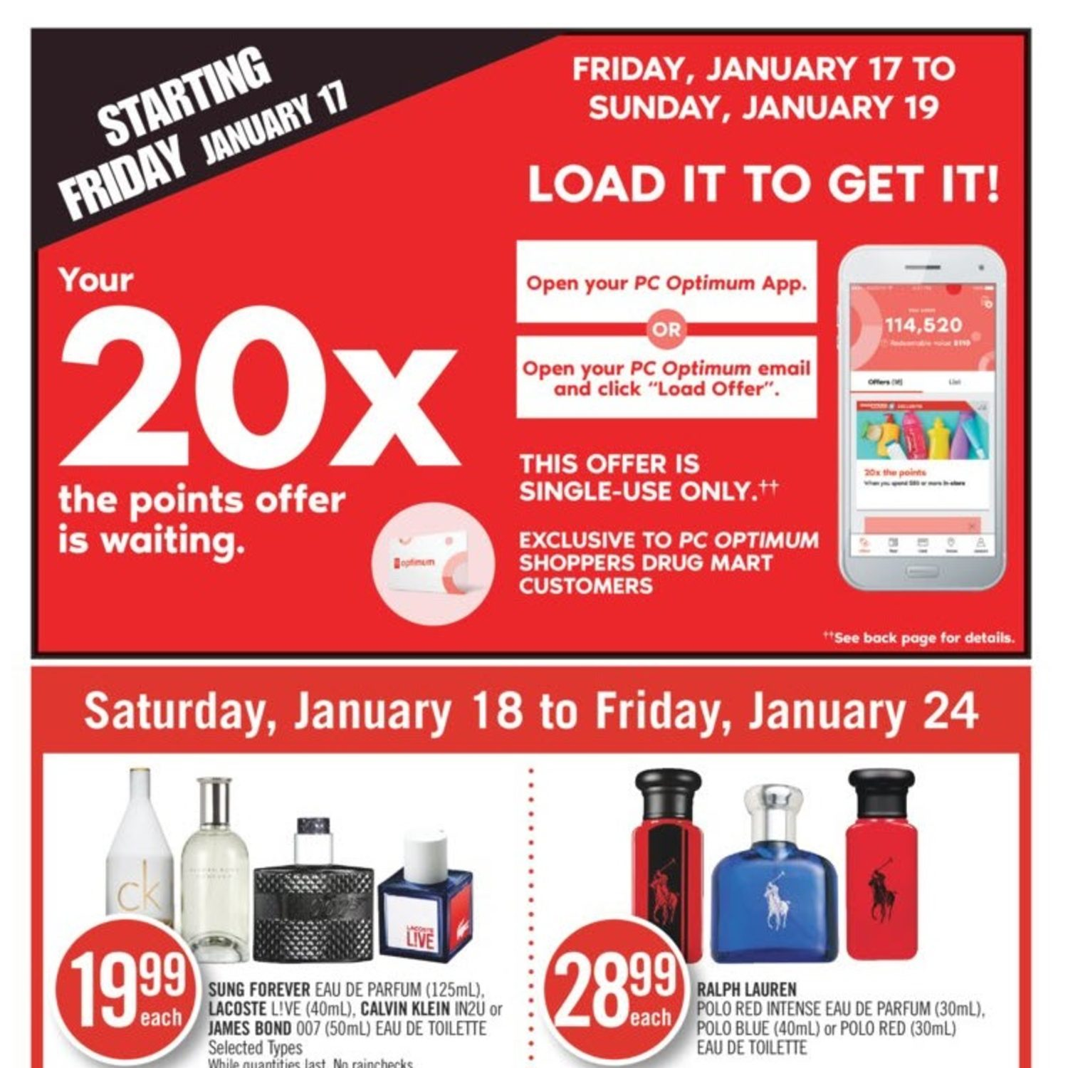 Shoppers Drug Mart Weekly Flyer Weekly Jan 18 24