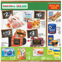 Shop Easy Foods - Weekly Specials - Dollar Days Flyer