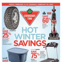 Canadian Tire - Weekly - Hot Winter Savings Flyer