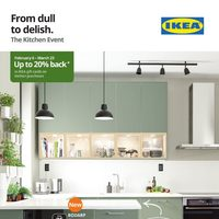 IKEA - The Kitchen Event - From Dull To Delish Flyer