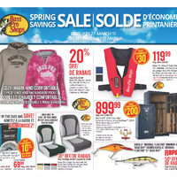 Bass Pro Shops - Spring Savings Sale Flyer