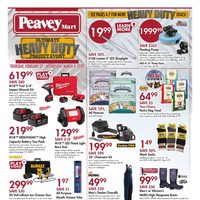 PeaveyMart - Ultimate Heavy Duty Project Event Flyer