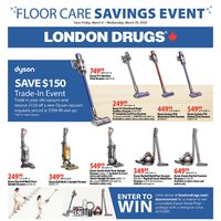 - Floor Care Savings Event Flyer