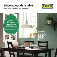 IKEA - Solde autour de la table Flyer