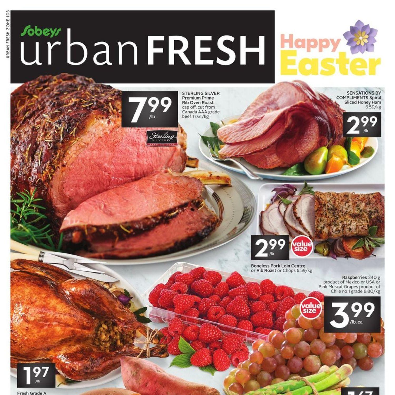 Sobeys urban fresh flyer