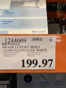 Bidet clearance at Costco