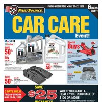 PartSource - Car Care Event! Flyer