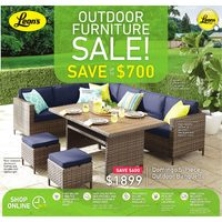 Leon's - Outdoor Furniture Sale! Flyer