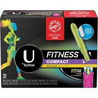 U By Kotex Pads, Liners Or Tampons