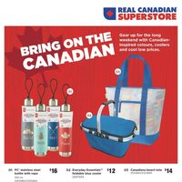 Real Canadian Superstore - Summer Book Flyer