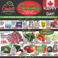 Galati Market Fresh - Weekly Specials - Happy Canada Day! Flyer