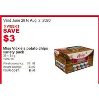 Miss Vickie's Potato Chips Variety Pack