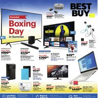 Best Buy - Weekly - Extended Boxing Day In Summer Flyer
