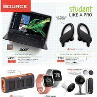 The Source - 2 Weeks of Savings - Student Like A Pro Flyer