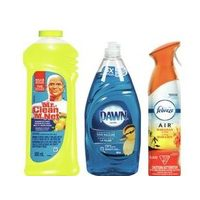 Mr. Clean Magic Erasers, Sheets or Cleaning Products, Dawn Ultra Dish Detergent or Febreze Air Care