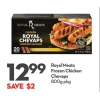 Royal Meats Chicken Chevaps