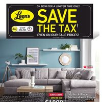 - Save The Tax Flyer