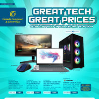 - Great Tech Great Prices	 Flyer
