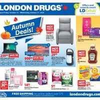 London Drugs - 6 Days of Savings -  Autumn Deals! Flyer