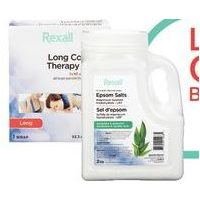 Rexall Brand Hot or Cold Compresses First Aid Kits, Topical Treatment or Epsom Salts