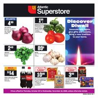 Atlantic Superstore - Discover Diwali Flyer