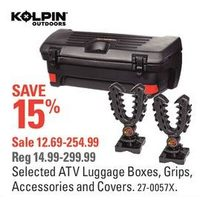 Kolpin Outdoors ATV Luggage Boxes, Grips, Accessories And Covers
