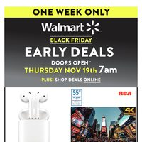 Walmart - Black Friday Early Deals Flyer