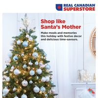 Real Canadian Superstore - Holiday Book - Shop Like Santa's Mother Flyer