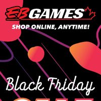 EB Games - Black Friday Sale Teaser Flyer