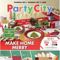 Party City - Make Home Merry Flyer