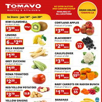 Tomavo - Weekly Specials Flyer